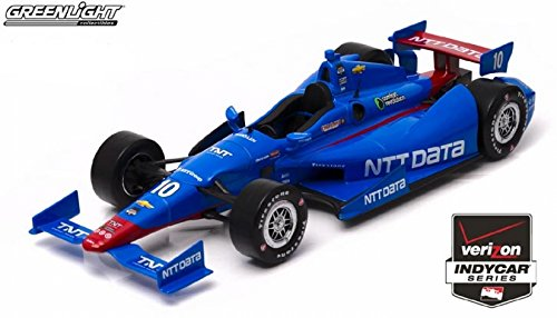 Модель 1:18 Dallara Chevrolet DW12 №10 Chip Ganassi Racing IZOD INDY CAR 500 (Tony Kanaan)
