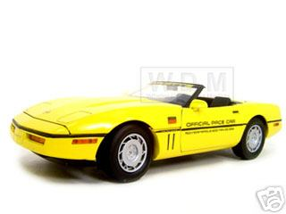 Модель 1:18 Chevrolet Corvette Indy 500 Pace Car Diecast Model Yellow