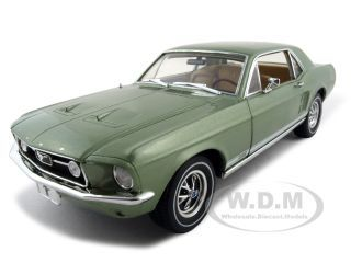 Модель 1:18 Ford Mustang GT Diecast Car - green