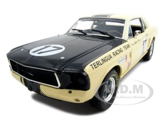 Модель 1:18 Ford Shelby Mustang Terlingua Racing Team Driven by Jerry Titus №17