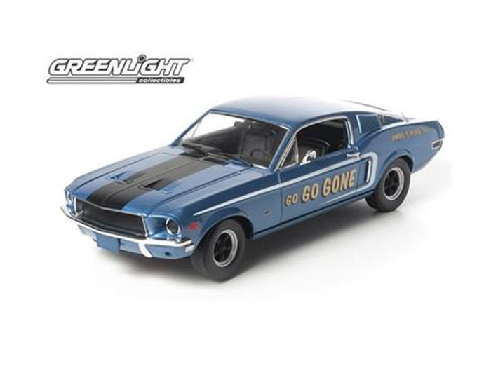 Модель 1:18 Ford Mustang GT Fastback- Jimbo`s Pure Oil - Go Go Gone Tribute - blue