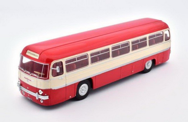 Модель 1:43 CHAUSSON ANG FRANCE - red/beige