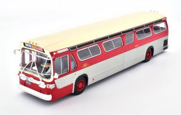 Модель 1:43 GM TDH-5301 New Look «Fishbowl» CANADA - red/silver