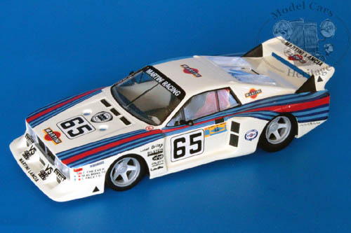 Модель 1:43 Lancia Beta Turbo №65 Gr.5 «Martini» Le Mans (E.Cheever - M.Alboreto - C.Facetti)