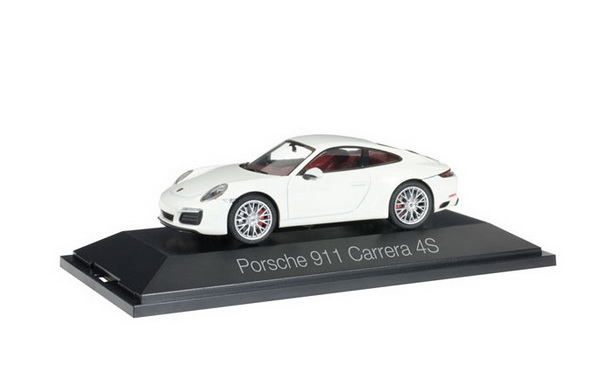 Модель 1:43 Porsche 911 Carrera 4S Coupe - white