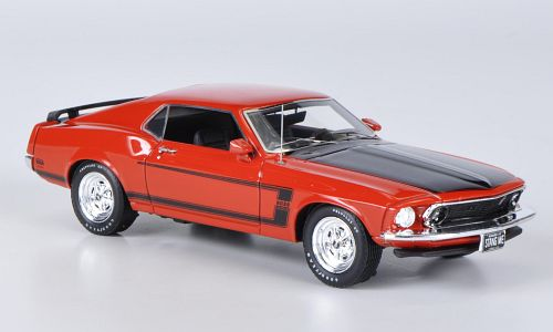 Модель 1:43 Ford Mustang Boss 302 - calypso coral red