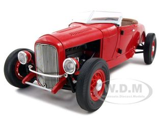 Модель 1:18 Ford Model A Roadster - red