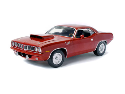 Модель 1:18 Plymouth Hemi Cuda Superstreet 528