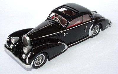 Модель 1:43 Bugatti T57 Pillarless Coupe Paul Nee Ch.№57397 - black