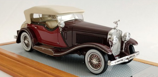 Модель 1:43 Isotta Fraschini Tipo 8A Dual Cowl Sports Tourer by Castagna Ch.№1664 Current Car (L.E.75pcs)