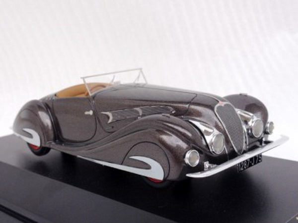 Модель 1:43 Delahaye 135MS Competition Roadster Figoni & Falaschi Ch.№48563