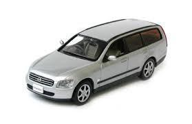 Модель 1:43 Nissan Stagea Station Wagon - silver