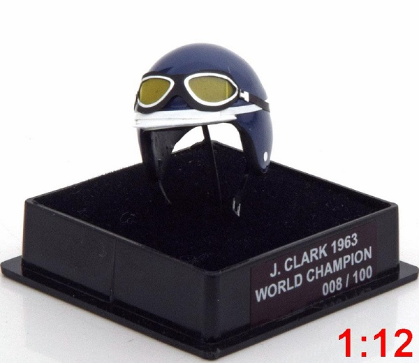 Модель 1:12 Lotus Helm Weltmeister J.Clark World Champions Collection (L.E.100pcs)
