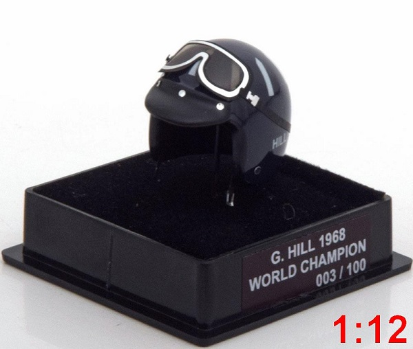 Модель 1:12 Lotus Helm Weltmeister G.Hill World Champions Collection (L.E.100pcs)