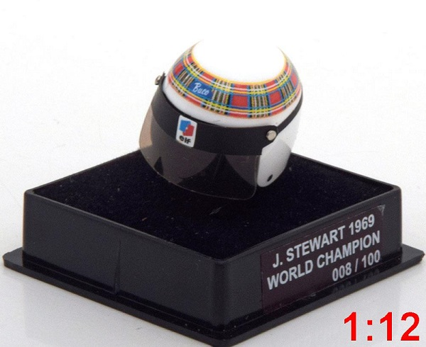 Модель 1:12 Matra Helm Weltmeister World Champions Collection (Jackie Stewart) (L.E.100pcs)