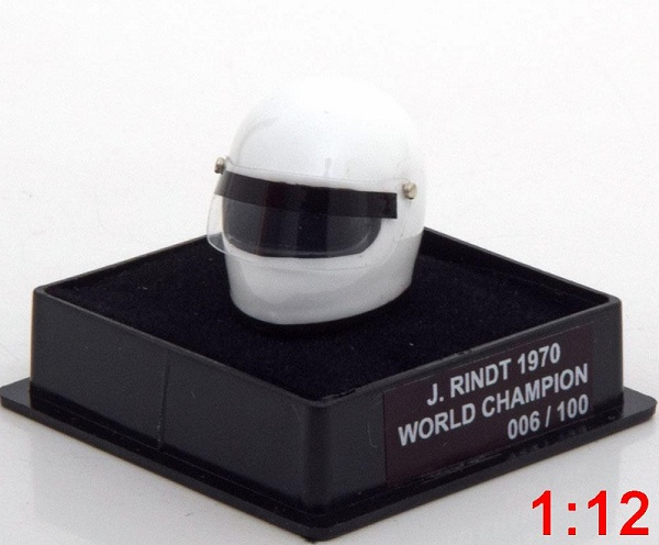 Модель 1:12 Lotus Helm Weltmeister World Champions Collection (Karl Jochen Rindt) (L.E.100pcs)