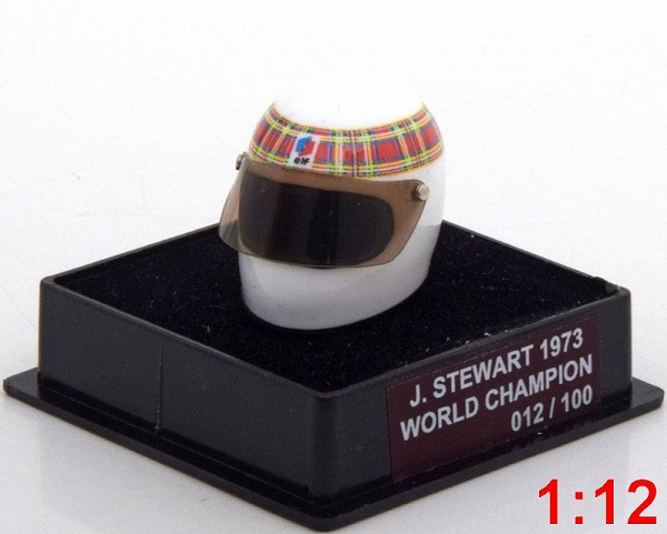 Модель 1:12 Tyrrell Helm Weltmeister World Champions Collection (Jackie Stewart) (L.E.100pcs)