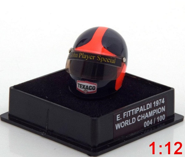 Модель 1:12 McLaren Helm Weltmeister 1974 Fittipaldi World Champions Collection (Limited Edition 100 pcs.)