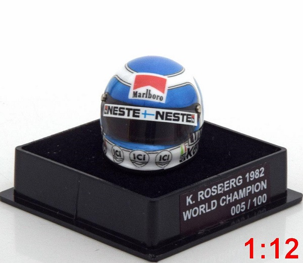Модель 1:12 Williams Helm Weltmeister World Champions Collection (K.Rosberg) (L.E.100pcs)
