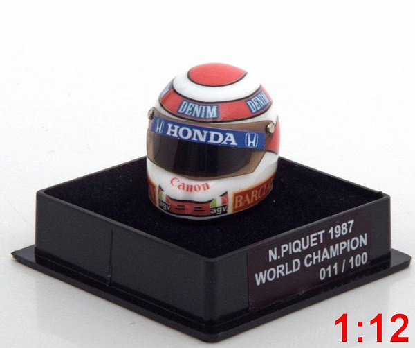 Модель 1:12 Williams Helm Weltmeister World Champions Collection (N.Piquet) (L.E.100pcs)