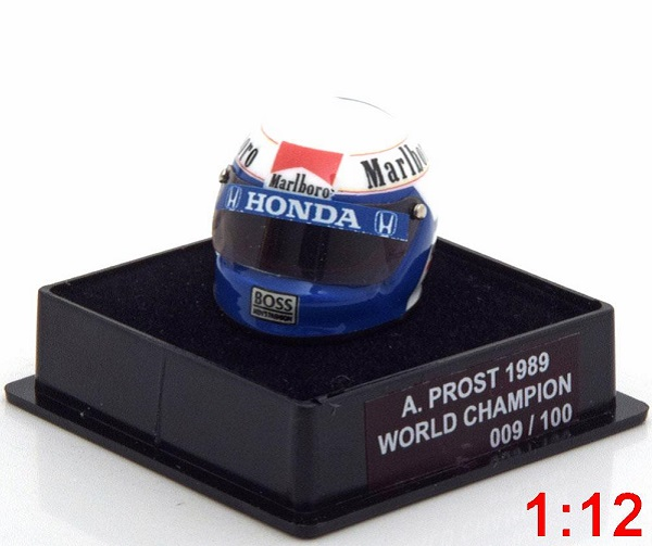 Модель 1:12 McLaren Helm Weltmeister 1989 Prost World Champions Collection (Limited Edition 100 pcs.)
