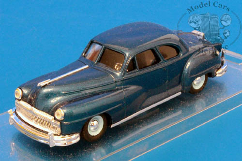 Модель 1:43 De Soto Coupe - blue