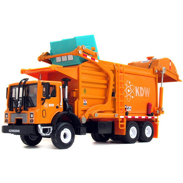 Модель 1:43 Mack TerraPro Refuse Truck with Heil Half/Pack Freedom Front Loader - orange