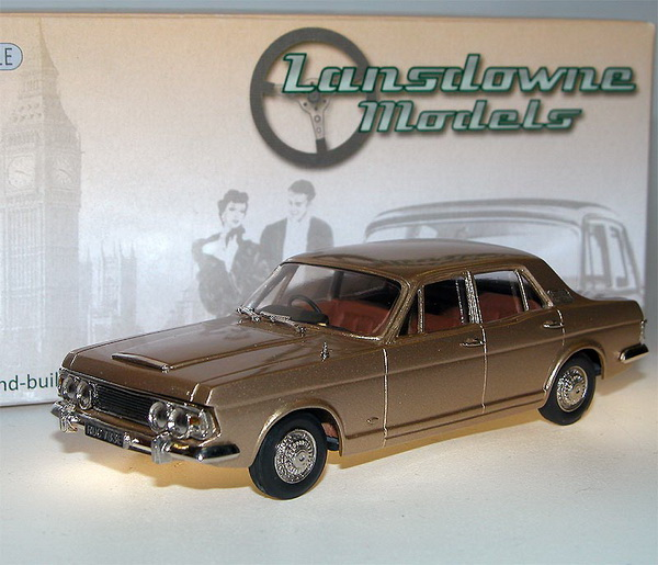 Модель 1:43 Ford ZODIAC MK 4 SALOON - Amber Gold Metallic