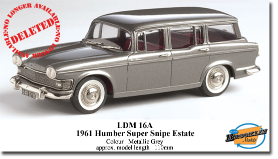 Модель 1:43 Humber Super Snipe Estate