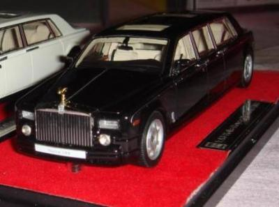 Модель 1:43 Rolls-Royce Phantom LWB - black