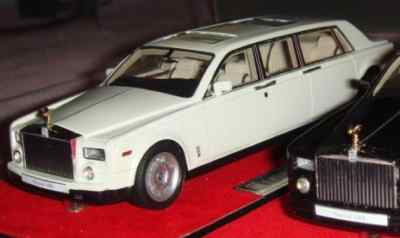 Модель 1:43 Rolls-Royce Phantom LWB - white