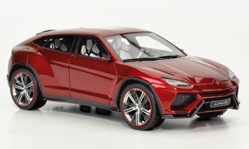Модель 1:43 Lamborghini Urus Salon Peking - red