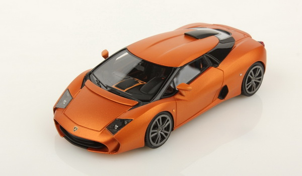 Модель 1:43 Lamborghini 5-95 Coupe Zagato - Titanium Wheels - orange met matt