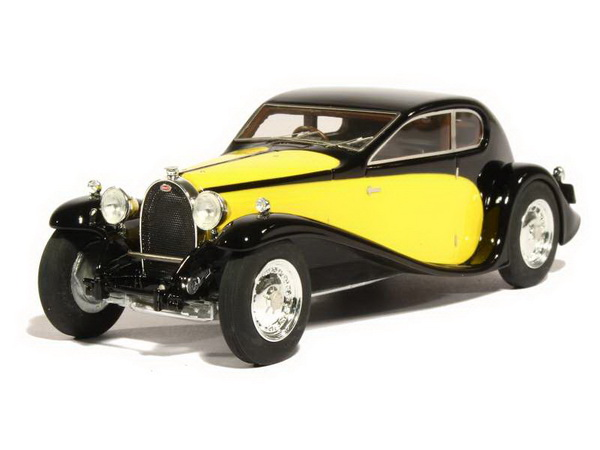 Модель 1:43 Bugatti T50 Superprofil? 1933 Black/Yellow