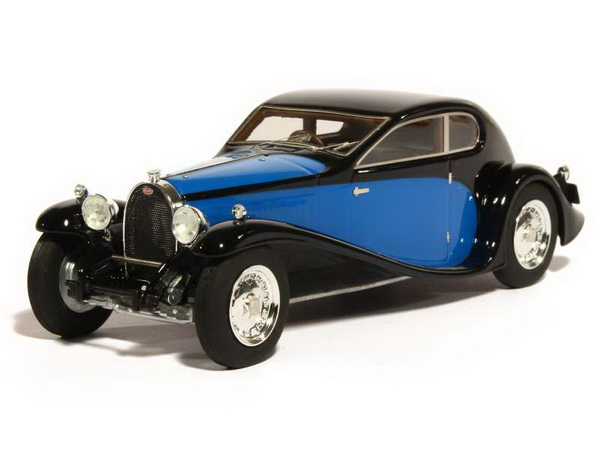 Модель 1:43 Bugatti T50 Superprofile - black/blue
