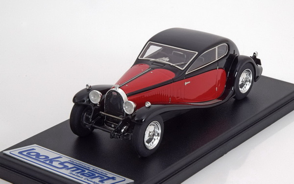 Модель 1:43 Bugatti T50 Superprofilé - black/red