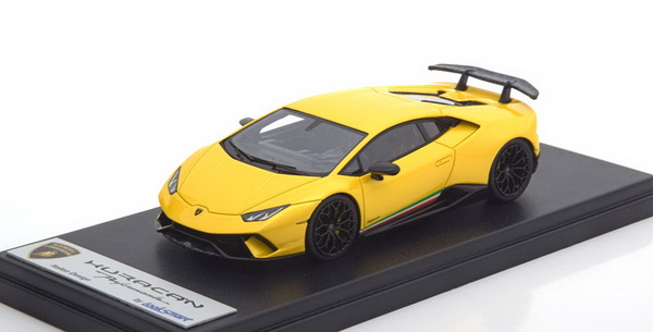 Модель 1:43 Lamborghini Huracan LP620-2 PERFORMANTE 2016 - Yellow