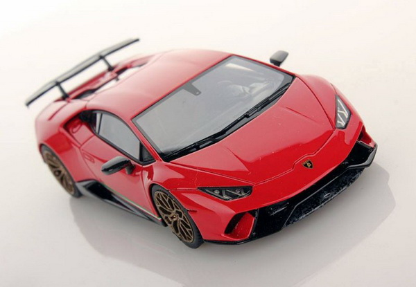 Модель 1:43 Lamborghini Huracan LP620-2 PERFORMANTE 2016 - Red