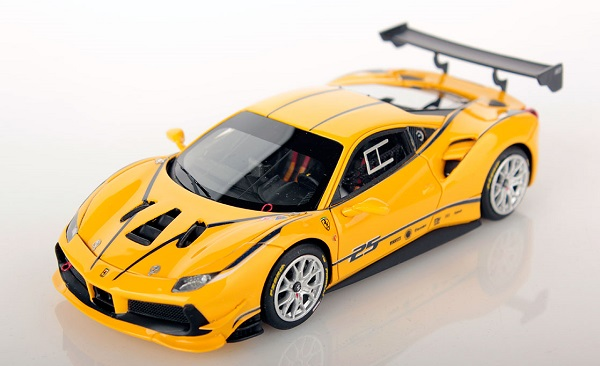 Модель 1:43 FERRARI 488 Challenge №25 RACING - yellow