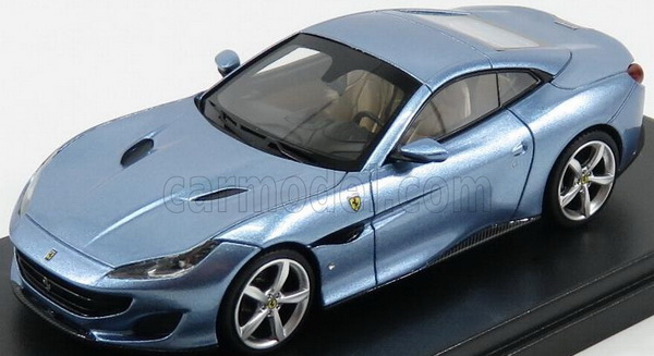 Модель 1:43 Ferrari Portofino Cabrio Closed - azzurro california