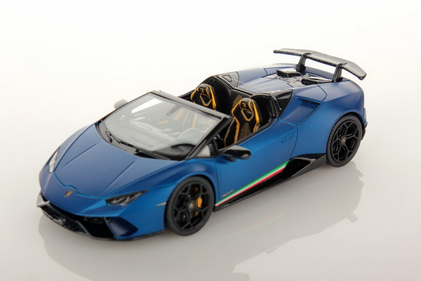 Модель 1:43 Lamborghini Huracan LP640-4 PERFORMANTE SPIDER - blue