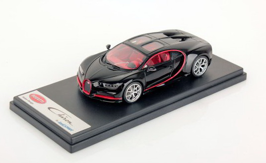 Модель 1:43 BUGATTI CHIRON SKY VIEW 2018 - Black red