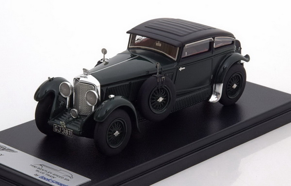 Модель 1:43 Bentley Speed Six Blue Train - green