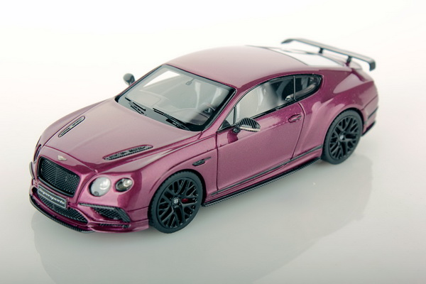 Модель 1:43 Bentley Continenal Supersports 2017 - magenta