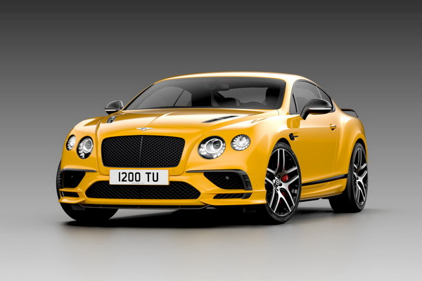 Модель 1:43 Bentley Continenal Supersports 2017 - Yellow