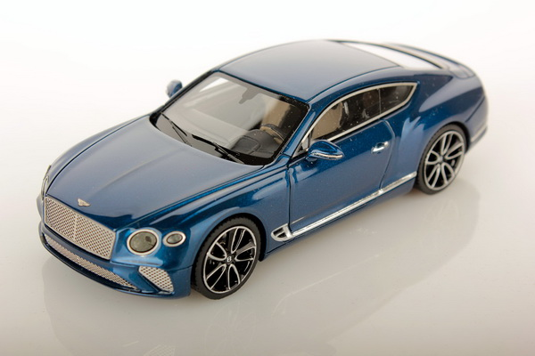 Модель 1:43 Bentley Continental GT Coupe - sequin blue