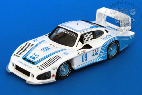 Модель 1:43 Porsche 935L №09 PPG/Ditzler Paint Riverside (Mario Andretti - Bill Whittington - Anthony Joseph Foyt )