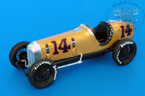 Модель 1:43 Miller Specia №14 Winner Indy 500 (Louis Meyer)