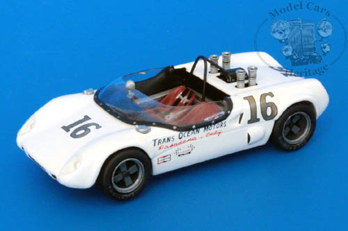 Модель 1:43 Lotus/Porsche №16 Trans Ocean Motors, Road America (George Follmer)