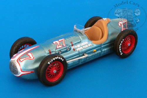Модель 1:43 Blue Crown Spark Plug Special №27 Winner Indy (Mauri Rose)
